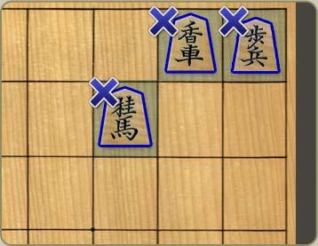 王手が掛かっている状態では、玉を逃がすか、 王手を防ぐ手を指さなければ... 将棋・反則 ふくろ